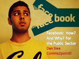 Facebook PowerPoint PPT Presentation