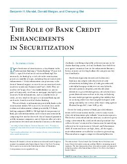 FRBNY Economic Policy Review  July   The Role of Bank Credit Enhancements in Securitization