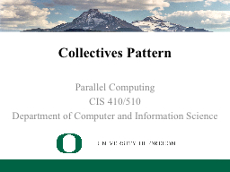 Collectives Pattern