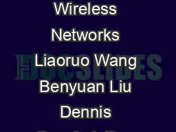 Connectivity with Noncoherent Cooperation in Extended Wireless Networks Liaoruo Wang  Benyuan Liu  Dennis Goeckel  Don Towsley and Cedric Westphal Dept