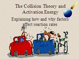 The Collision Theory and Activation Energy