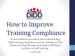 How to Improve Training Compliance