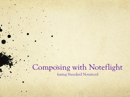 Composing with