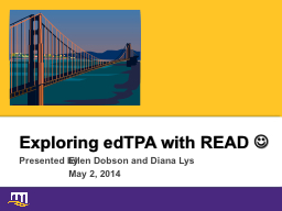 Exploring edTPA with READ