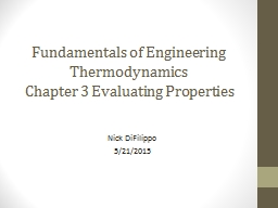 Fundamentals of Engineering Thermodynamics PowerPoint Presentation, PPT - DocSlides