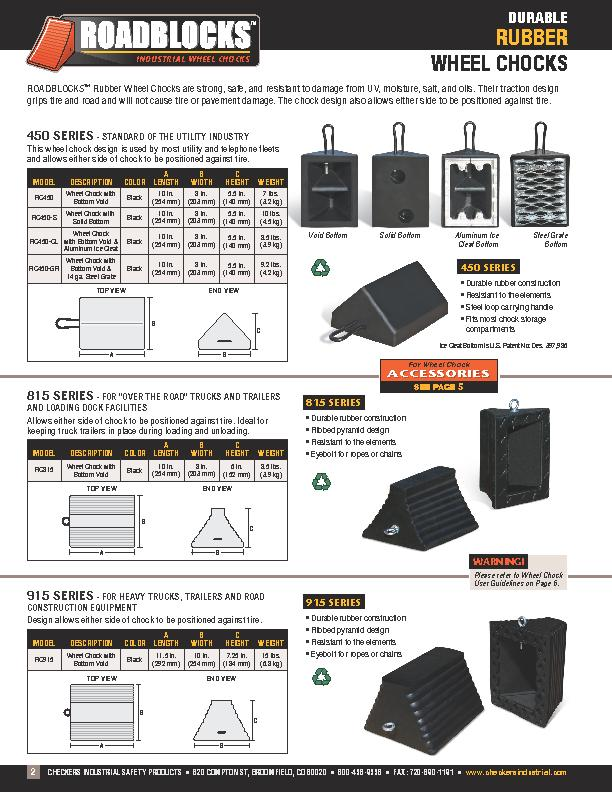 CHECKERS INDUSTRIAL SAFETY PRODUCTS  •  620 COMPTON ST, BROOMFI PowerPoint PPT Presentation