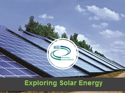 Exploring Solar Energy PowerPoint PPT Presentation