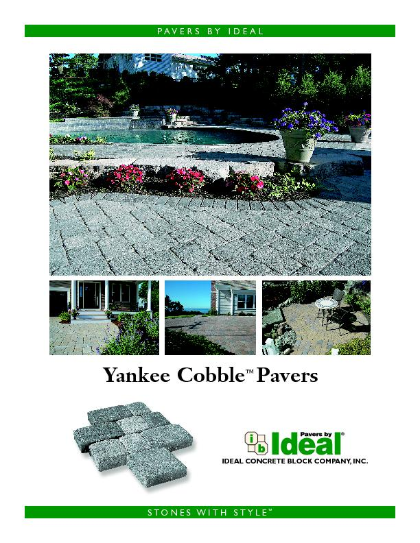 IDEAL CONCRETE BLOCK COMPANY, INC.