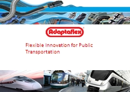 Flexible Innovation for Public Transportation PowerPoint PPT Presentation