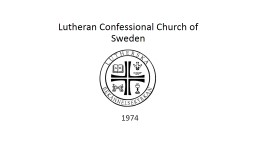 Lutheran Confessional Church of