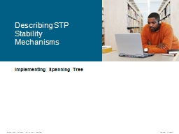 Implementing Spanning Tree PowerPoint PPT Presentation