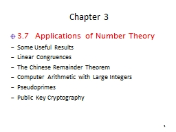 Chapter 3 PowerPoint PPT Presentation