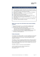 Page  of  Health and Safety Executive Making the best use of lifting and handling aids This is a webfriendly version of leaflet INDGrev published  Frequent and heavy lifting and handling can cause ba