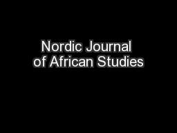 Journal of Asian and African studies RG Impact