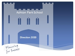 Ashton Park School PowerPoint PPT Presentation