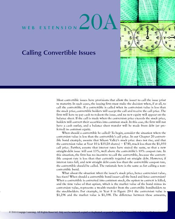 Calling Convertible IssuesWEBEXTENSION