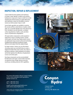 HYDROELECTRIC SYSTEMS FOR UTILITIES AND INDEPENDENT POWER PRODUCERS  Hydroelectric systems from Canyon Hydro are built to deliver a high return on your investment year after year