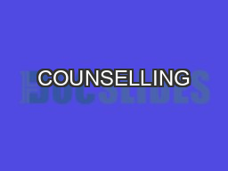 COUNSELLING& ADMISSION PROCESS COUNSELLINGPROCESSThere will be 3 round