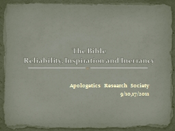 Apologetics Research Society
