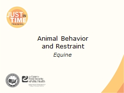 Animal Behavior PowerPoint PPT Presentation