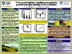 Future atmospheric conditions increase the
