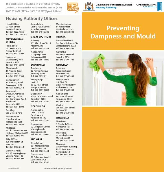 Preventing Dampness and Mould