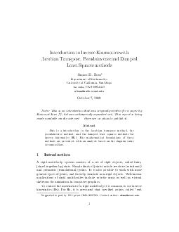Introduction to Inverse Kinematics with Jacobian Transpose Pseudoinverse and Damped Least Squares methods Samuel R