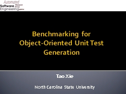 Benchmarking for