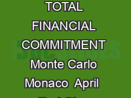 CITY COUNTRY TOURNAMENT DATES SURFACE TOTAL FINANCIAL COMMITMENT Monte Carlo Monaco  April  Red Clay STATUS NAT MAIN DRAW SINGLES  ESP R