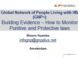 Global Network of People Living with HIV (GNP+)
