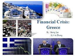 Financial Crisis: Greece PowerPoint PPT Presentation