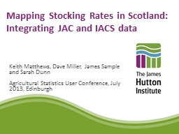 Mapping Stocking Rates in
