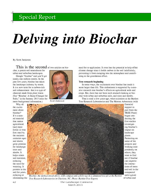 "of two articles on biochar, a potent soil amendment for Google ""b PowerPoint PPT Presentation"