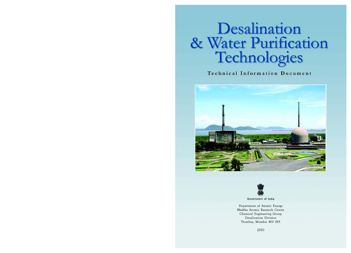 Desalination & Water Purification TechnologiesWater PurificationTechno