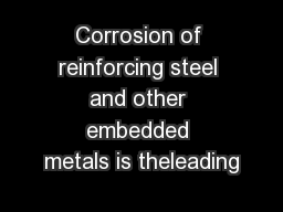 corrosion of metals 1 [corrosion&protection/bm] a short introduction to corrosion and its control corrosion of metals and its prevention what is corrosion corrosion is the deterioration of materials by.