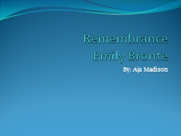 Remembrance PowerPoint PPT Presentation