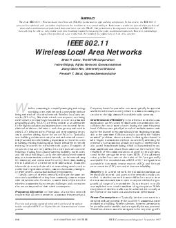 IEEE Communications Magazine  September   IEEE