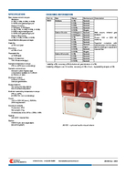 technical datas heet HITECH INSTRUMENTS A member of the MTL Instruments Group www