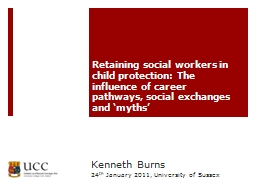 Retaining social workers in child protection: The influence