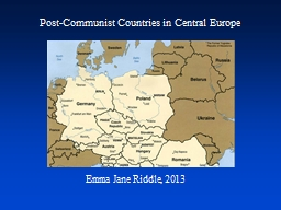 Post-Communist Countries in Central