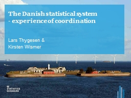 The Danish statistical system