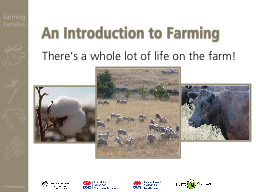 An Introduction to Farming