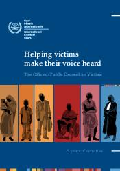Helping victims make their voice heard The Ofce of Public Counsel for Victims  y