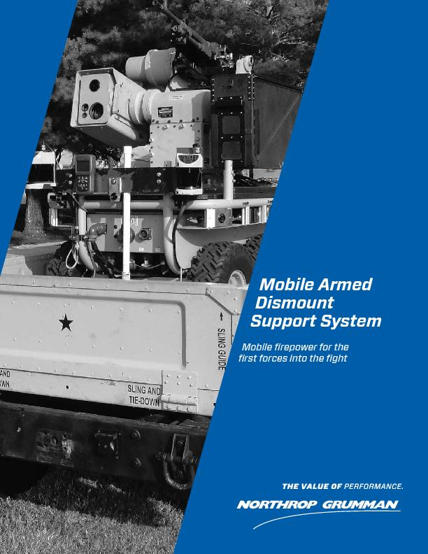 Mobile Armed Dismount Support SystemMobile repower for therst forces