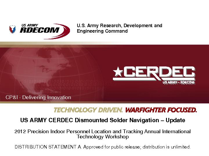 U.S. Army Research, Development and PowerPoint PPT Presentation