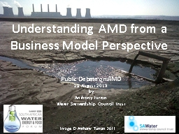 Understanding AMD from a Business Model Perspective