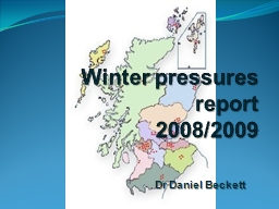 Winter pressures report