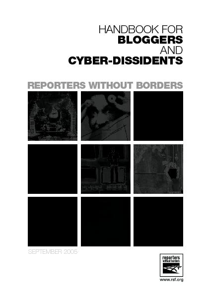 REPORTERS WITHOUT BORDERS PowerPoint PPT Presentation