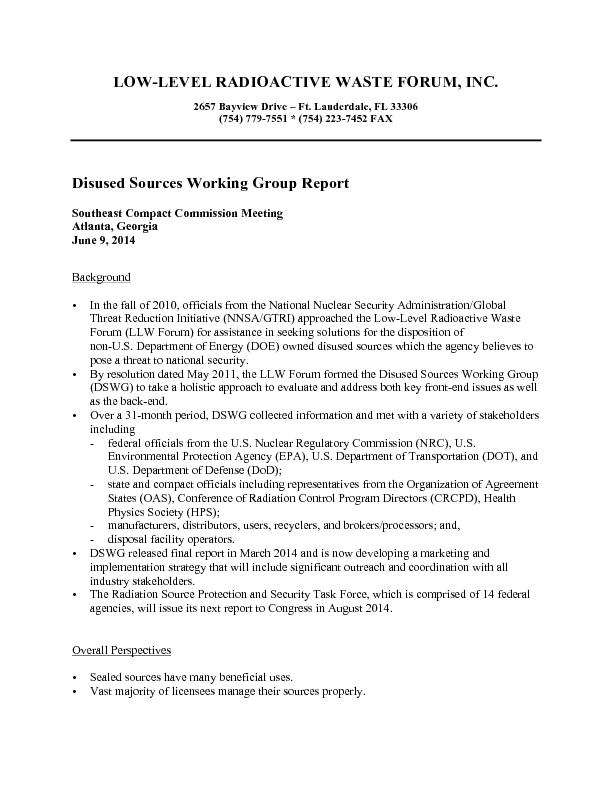 NNSA/GTRI considers thousands of sources (including IAEA Category 3 so PowerPoint PPT Presentation