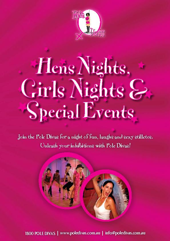 Join the Pole Divas for a night of fun, laughs and sexy stilletos. ...